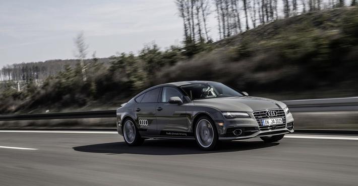 Ауди выпустит беспилотный автомобиль в 2021г