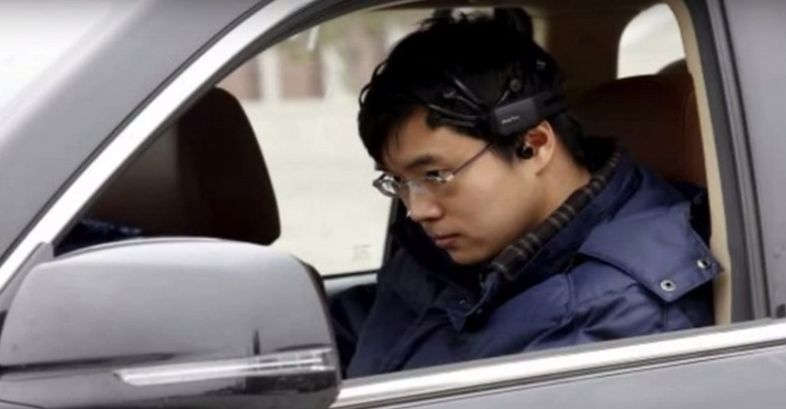 система управления автомобилем посредством мысли