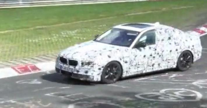 BMW 5-й серии видео