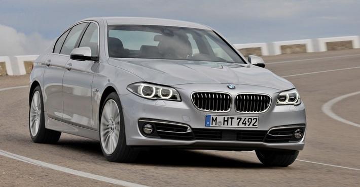 седан BMW 5-й серии