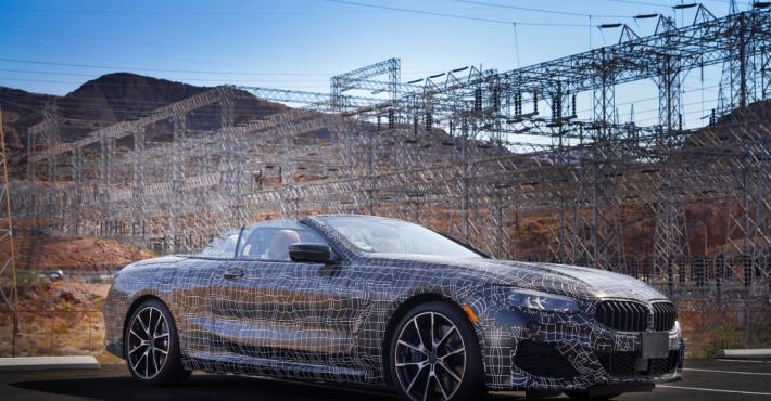 кабриолет BMW 8-й серии