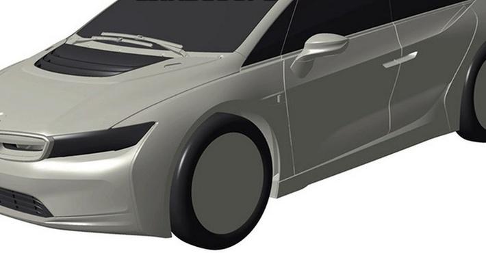 Вглобальной web-сети появились изображения нового автомобиля БМВ i5