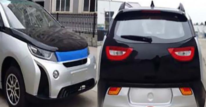 Китайские инженеры создали близнеца БМВ i3