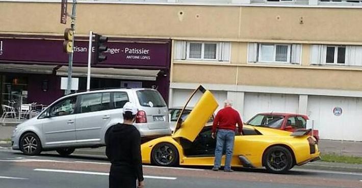 ДТП с Lamborghini Murcielago