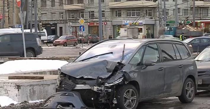 ДТП на площади Тверской заставы