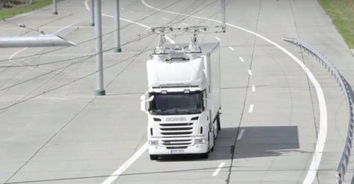 электрический грузовик в Швеции