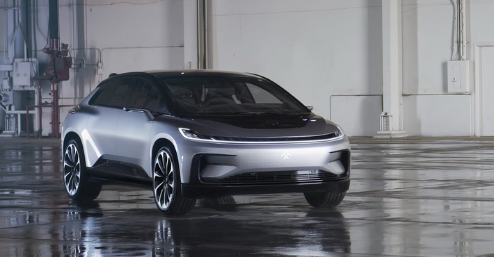 Вражда электрокаров: компания Faraday Future представила основного конкурента Tesla