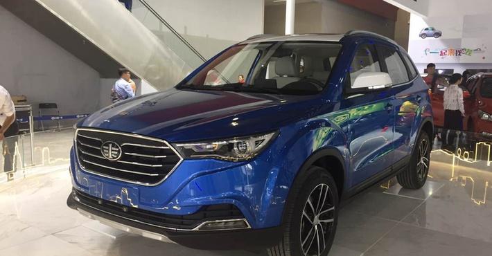Кроссовер FAW Besturn X40 обновленного образца представили вГуанчжоу