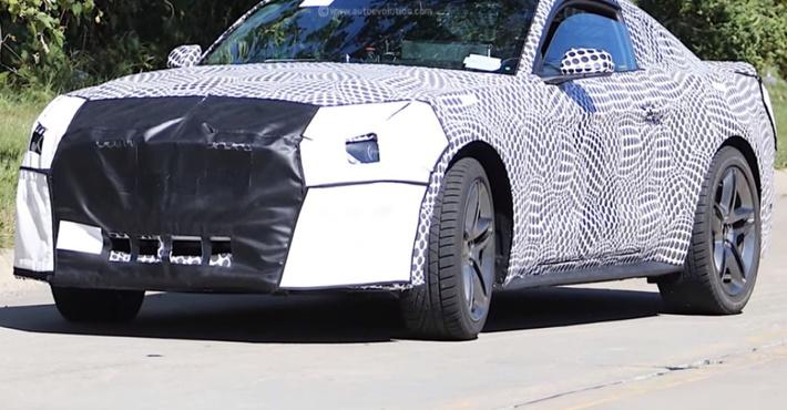 Улучшенная версия Форд Mustang получит 10-ступенчатый «автомат»