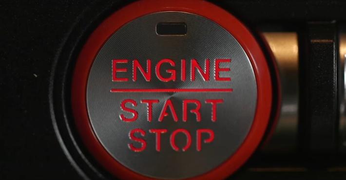Обновлённый Форд Mustang обзавёлся пульсирующей клавишей зажигания