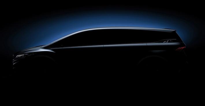 Концерн Geely Motors презентовал вШанхае концептуальный автомобиль минивэна