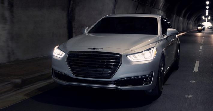 Genesis G90 2018-го модельного года презентовали вСША