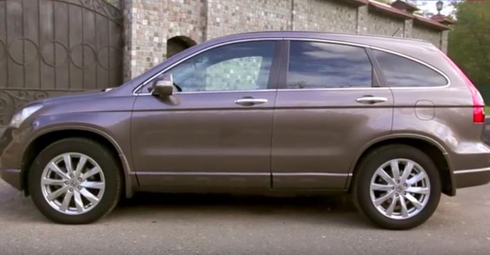 Русский рынок покинул кроссовер Хонда CR-V с2,4-литровым мотором