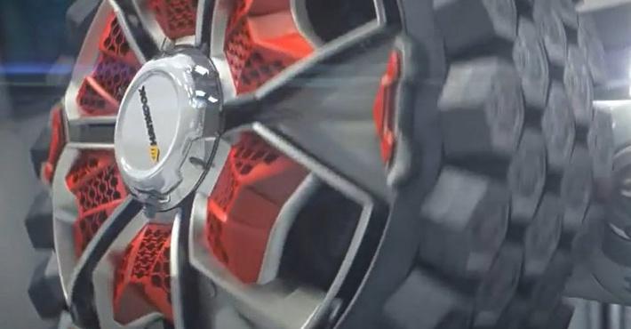новый тип колес