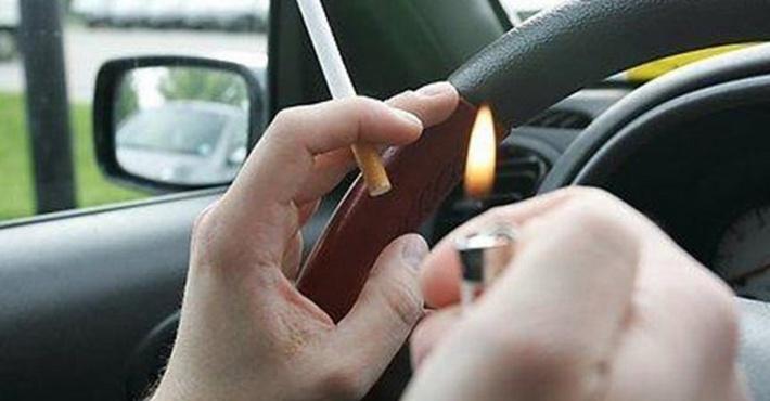запрет на курение за рулем