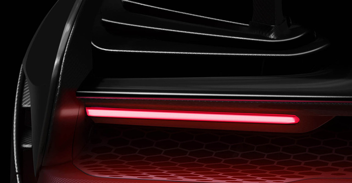 Представлен новый тизер гиперкара Мак Ларен  P15