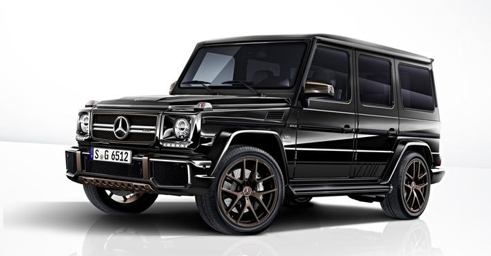 Benz выпустит 65 заключительных 630-сильных вседорожников G-Class