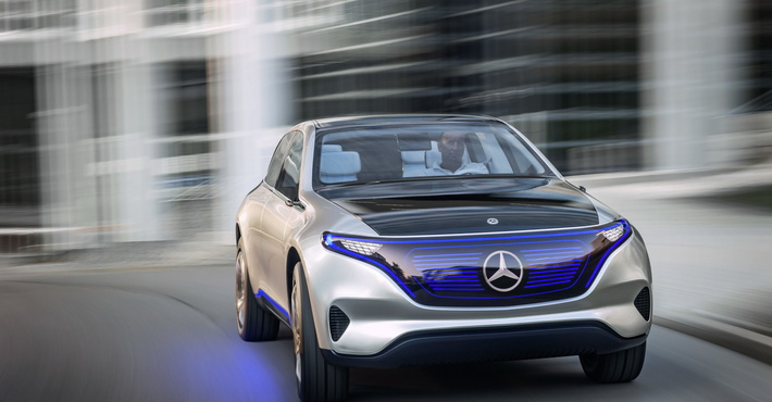 Benz выпустит электрический хэтчбек иновый кроссовер