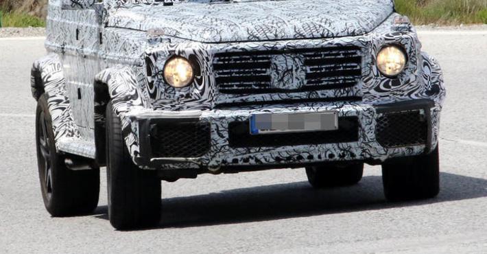 Появились новые фото Mercedes G-Class 2019