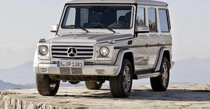Mercedes проведет самое масштабное обновление модели G-класса в 2016 году