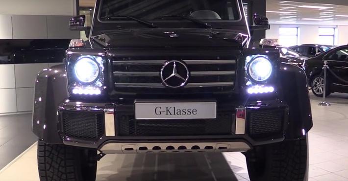 Mercedes-Benz G 500 4x4