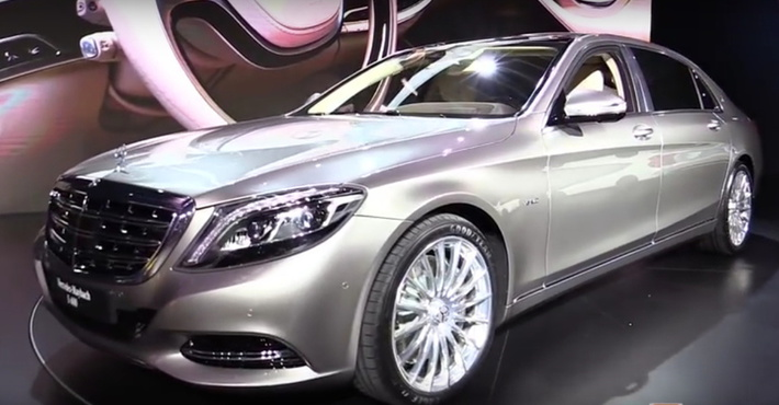 Mercedes-Benz Maybach S-класса