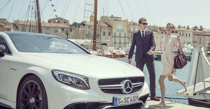 Купе Mercedes S63 AMG