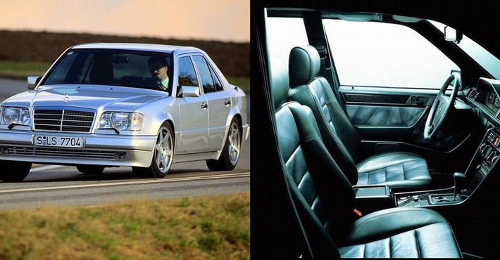 Mercedes 500 Е