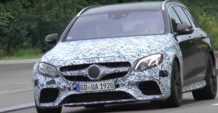 Появилось видео нового Mercedes-AMG E63 вкузове седан иуниверсал