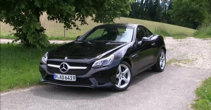 Mercedes небудет производить родстер SLC следующего поколения