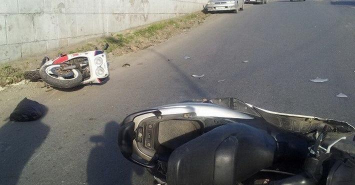 ДТП с мотоциклом