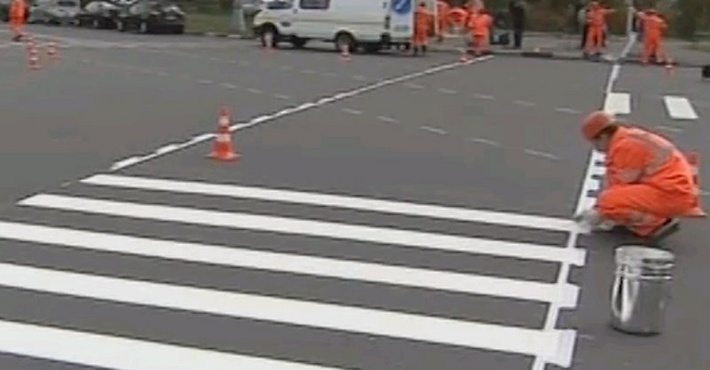 диагональный пешеходный переход