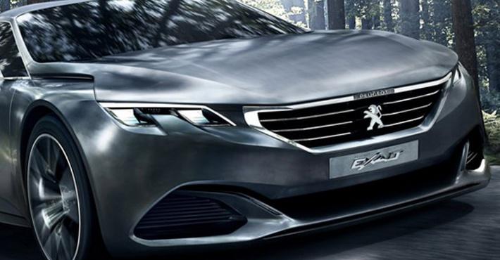 Peugeot покажет концепт четырехдверного купе в Париже
