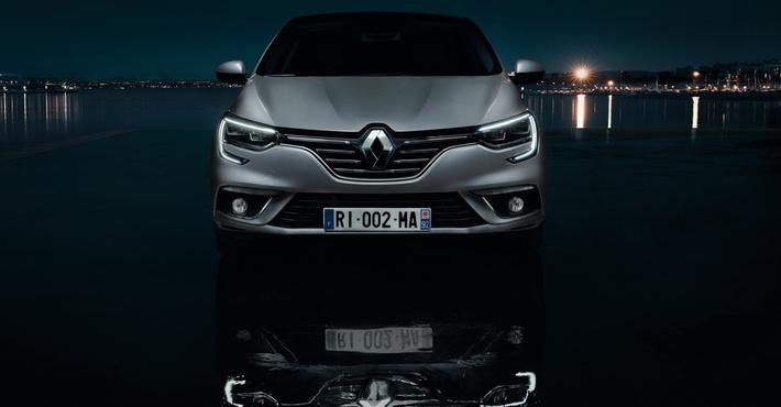 седан Renault Megane
