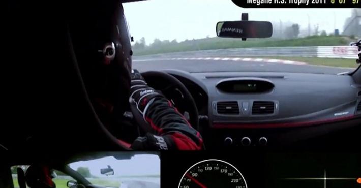 хэтчбека Renault Megane RS 275 Trophy-R