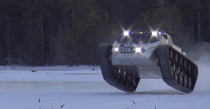 броневик Ripsaw EV-2