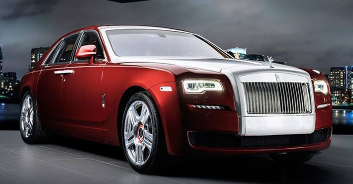 Rolls-Royce Ghost Red Diamond
