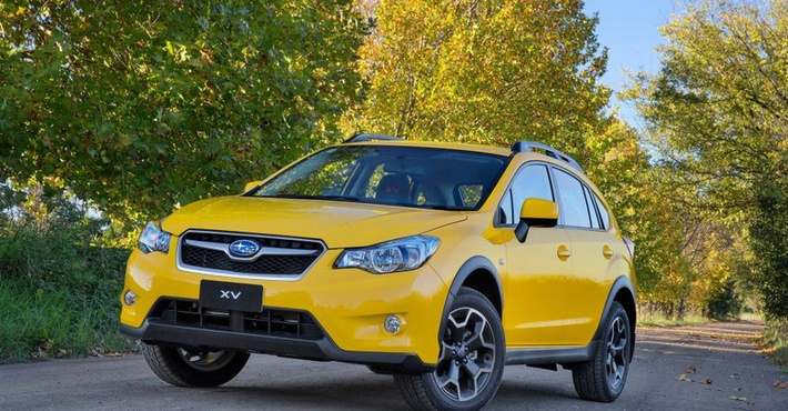 Subaru Sunshine Yellow Special Edition XV