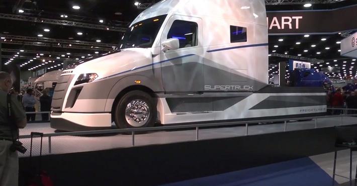 концепт Freightliner Super Truck