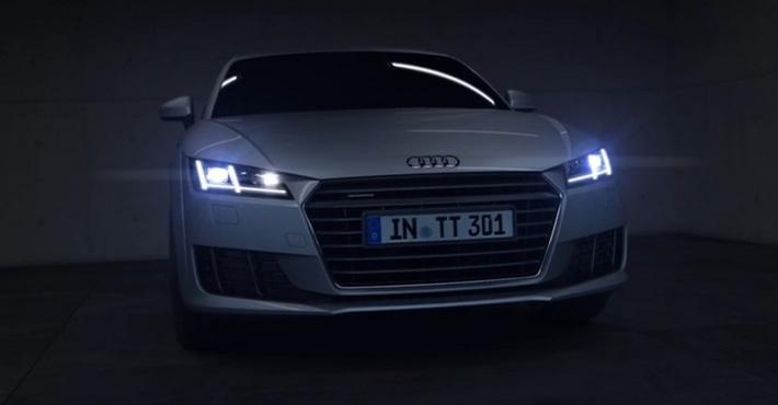 светодиодная матрица Audi