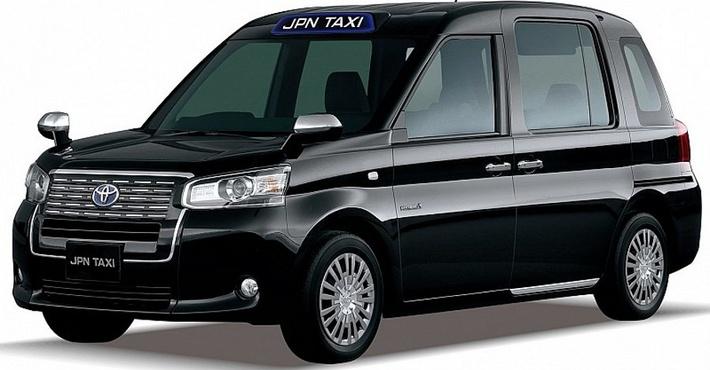 концепт такси Toyota