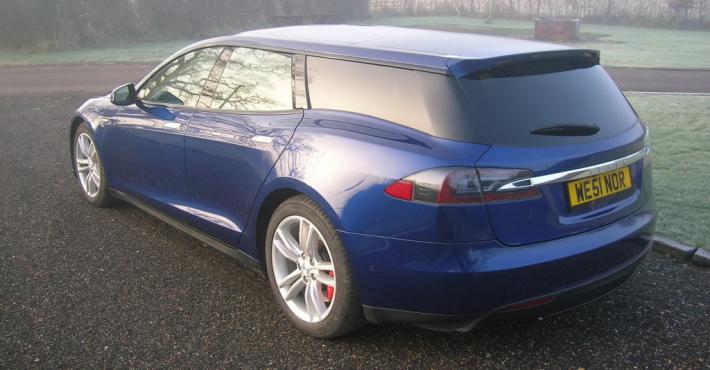Tesla Model S 90D Shooting Brake