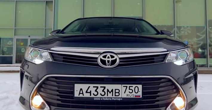 Тоёта  Camry стала наиболее популярным  автомобилем бизнес-класса в РФ