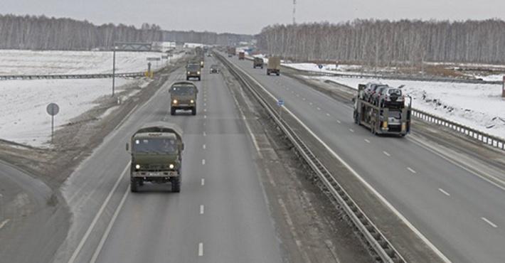 трасса М-5 «Урал»