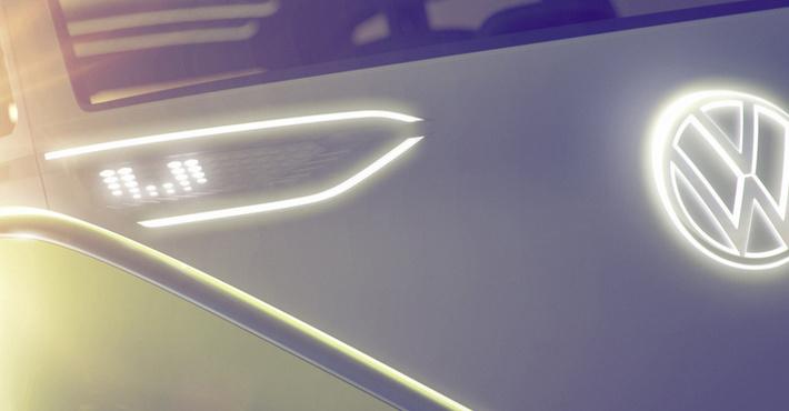 VW покажет очередной электрический минивэн вДетройте