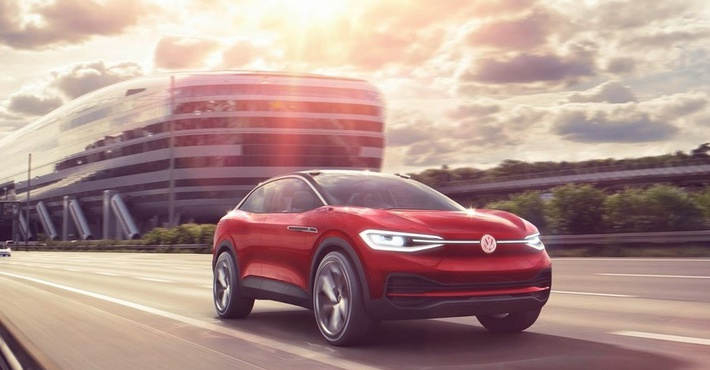 VW к 2020г. концерн выпустит три электромобиля