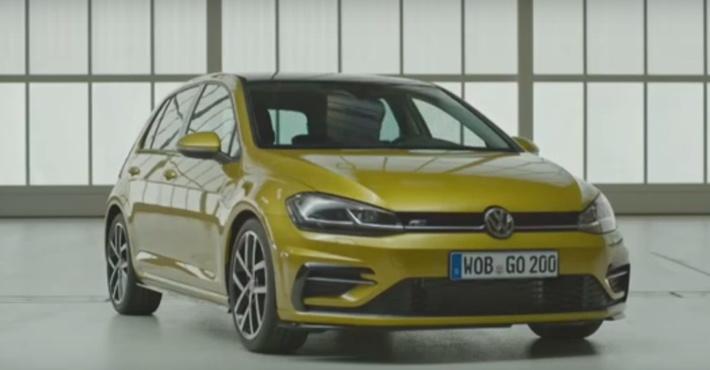 VW Golf 7 Rполучил «заряженный» мотор на740 лошадиных сил