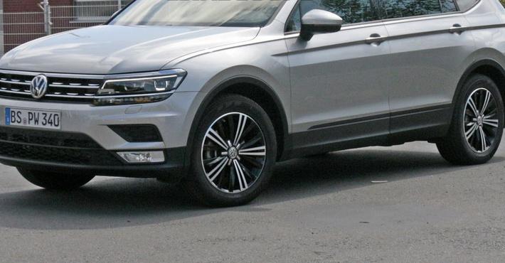Вглобальной сети появились фото нового VW Tiguan