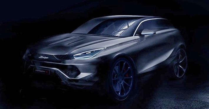Китайцы изZotye выпустили копию Lamborghini Urus