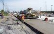 бетонная дорога